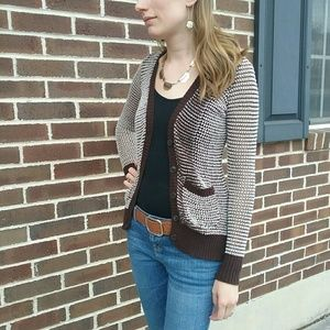 Anthropology Coincidence & chance xs cardigan